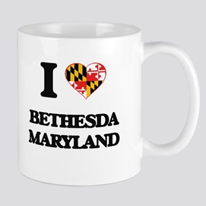 I love Bethesda Maryland Mugs